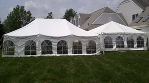 the party providers tent rentals and party rentals serving new